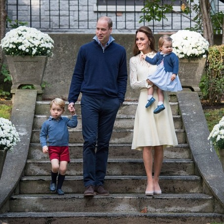Prince William and Kate Middleton are ready to do the school run with Prince George
