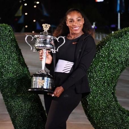 So… Serena Williams won the australian open pregnant