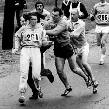This woman was attacked for running the Boston marathon 50 years ago