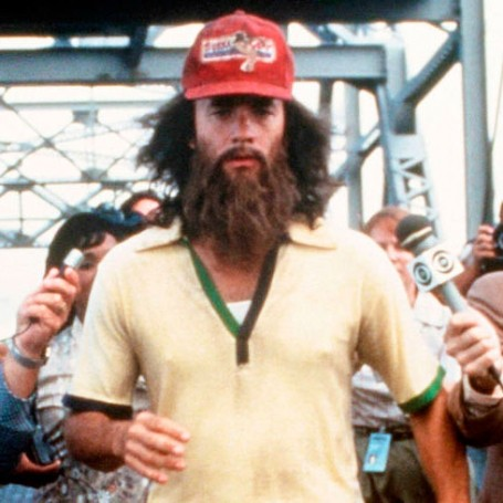 There's a real life Forrest Gump running across America right now