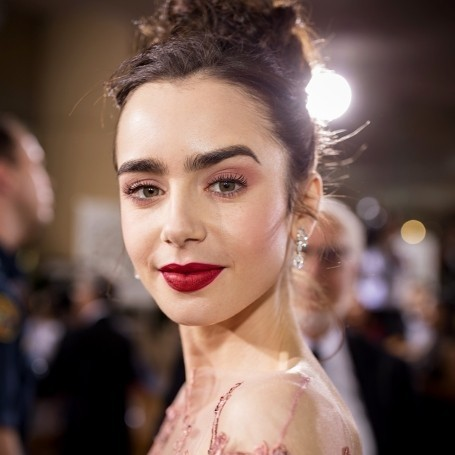 My Life In Books: Lily Collins
