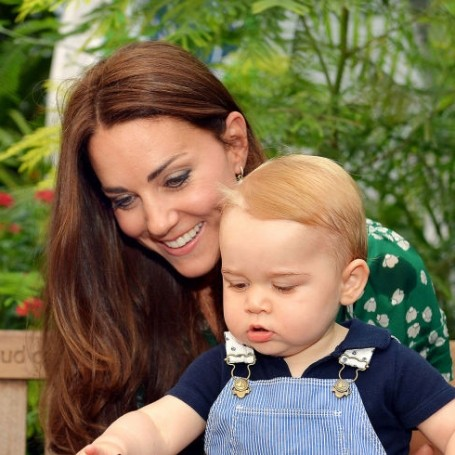 Prince George wants you to pay attention when you're watching his TV shows