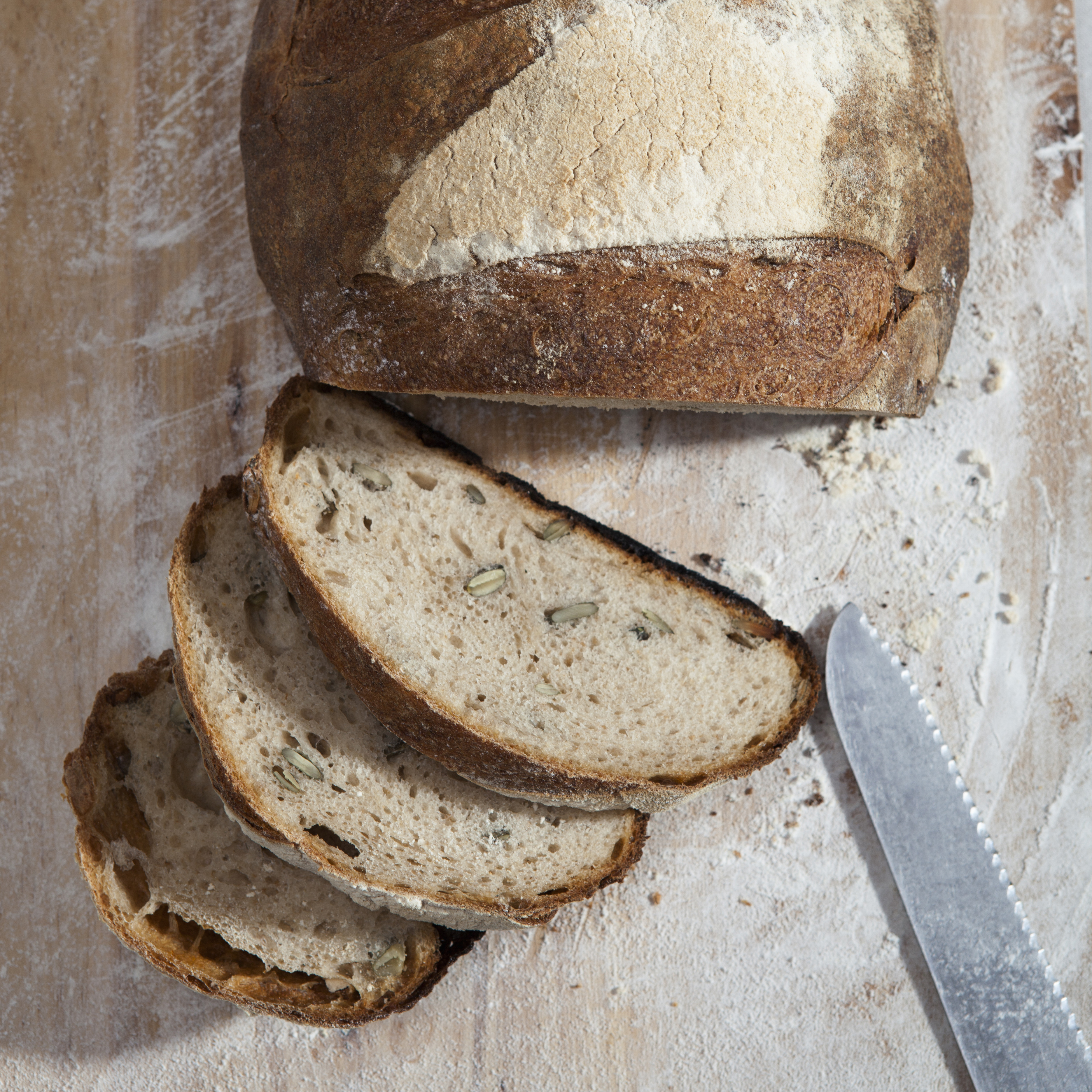 Picking Mould Off Bread Food Red Online