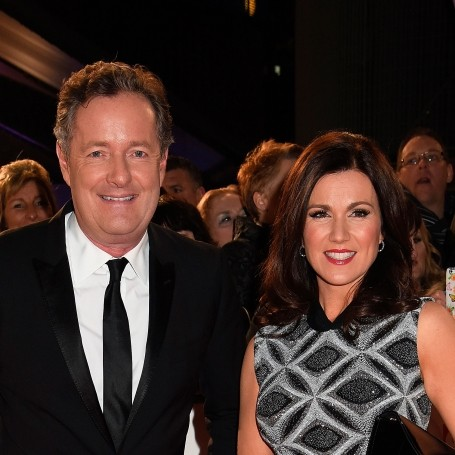Piers Morgan Clashes With Susanna Reid in Good Morning Britain Cellulite Debate