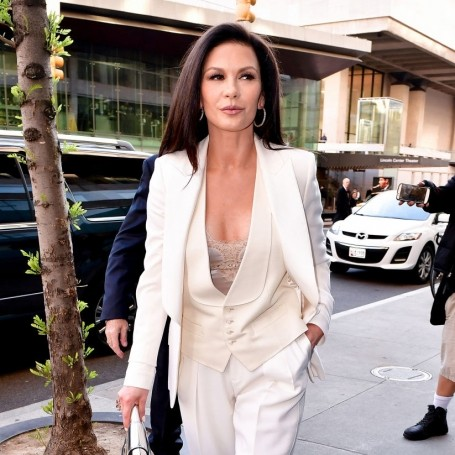 Catherine Zeta-Jones gives us a glimpse inside her beauty cabinet