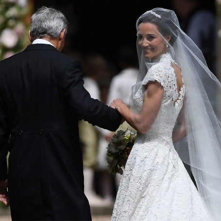 See Pippa Middleton's wedding dress