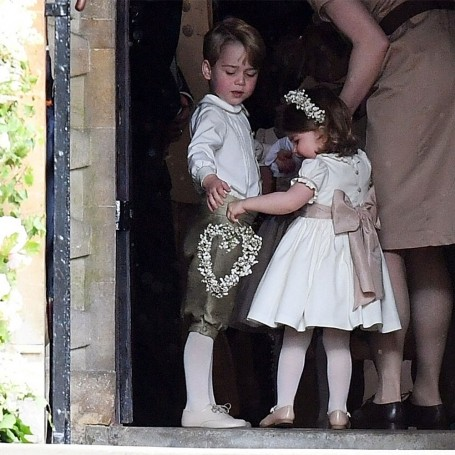 Prince George and Princess Charlotte's cutest moments at Pippa's wedding