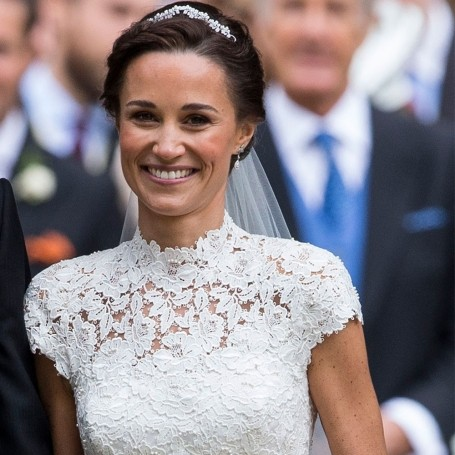 See Pippa Middleton's gorgeous wedding hair and make-up