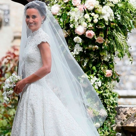 How to get a wedding dress like Pippa Middleton
