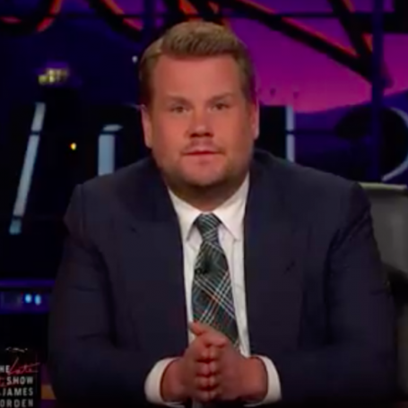 James Corden makes heartbreaking tribute to Manchester