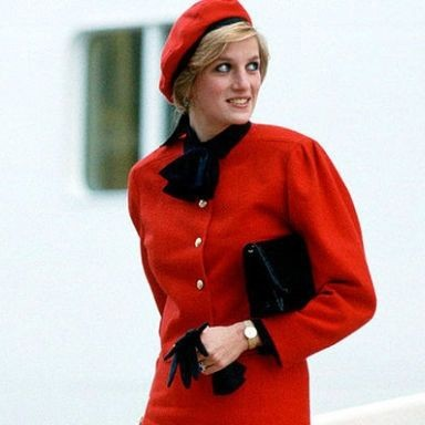 What you never knew about Princess Diana's famous 'cleavage bags'
