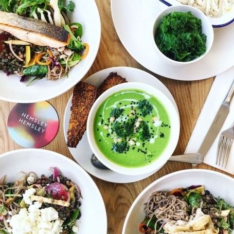 10 best healthy cafes and restaurants in London