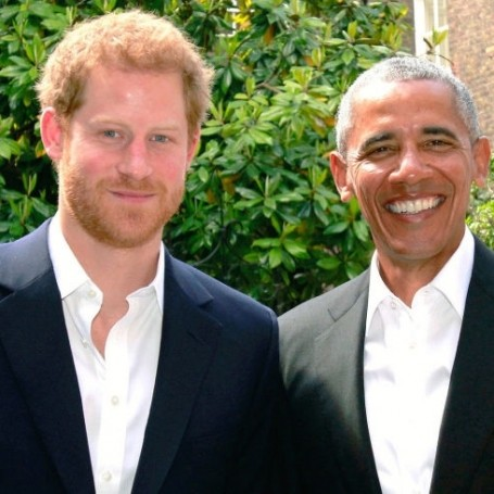 Prince Harry and Barrack Obama hung out this weekend and it was glorious