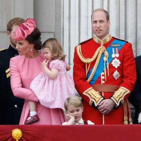 Prince George was all of us as kids at Trooping the Colour