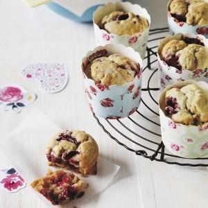Sarah Wilson's sugar-free raspberry muffins