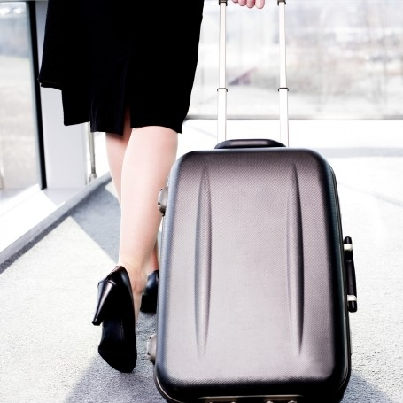 Here's why suitcases have a tendency to fall over