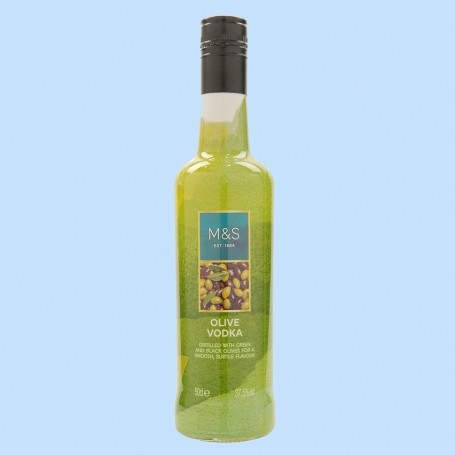 You can now buy olive vodka