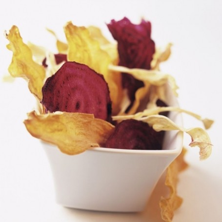 Nutritionists warn vegetable crisps can be more unhealthy than normal crisps