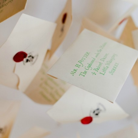 You can now get your very own Hogwarts letter from this London shop