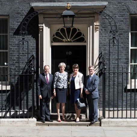 Theresa May has finally signed an agreement with the DUP