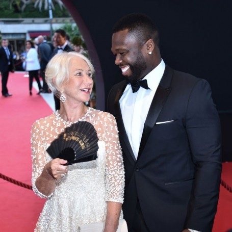 50 Cent confesses his love for Helen Mirren and we can't blame him