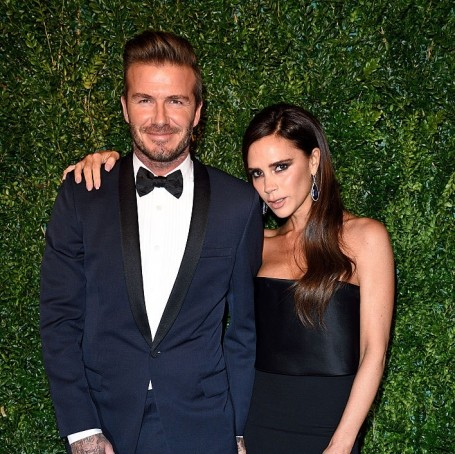 David and Victoria Beckham danced their way through Ed Sheeran's Glastonbury set