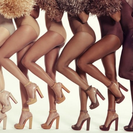 Christian Louboutin debuts nude sandal collection for all skin tones