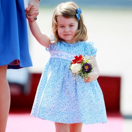 Princess Charlotte curtsying on the royal tour will melt your heart
