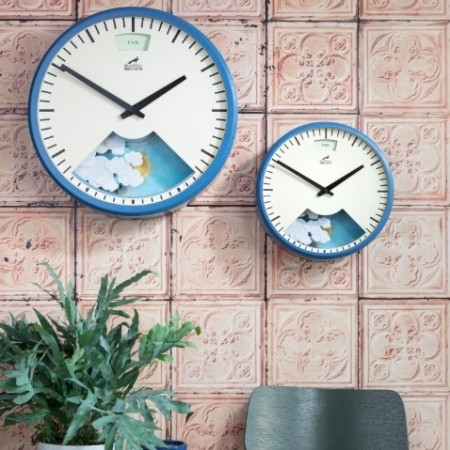 Bramwell Brown Clock