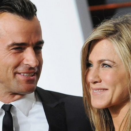 Justin Theroux shares loved-up picture with Jennifer Aniston to celebrate anniversary