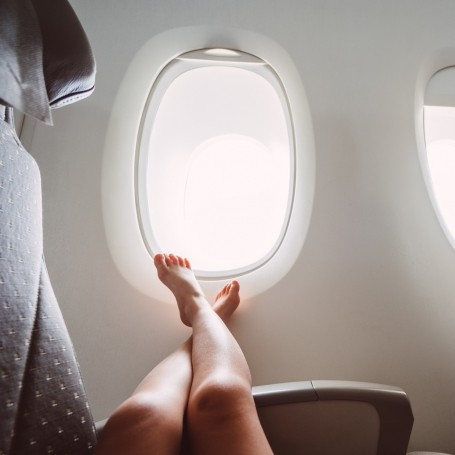 The way you board a plane affects your chances of contracting an illness, new research says