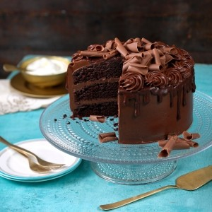 Martha Collison's Divine Chocolate Layer Cake