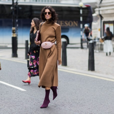 Meet your new favourite ankle boot: The sock boot