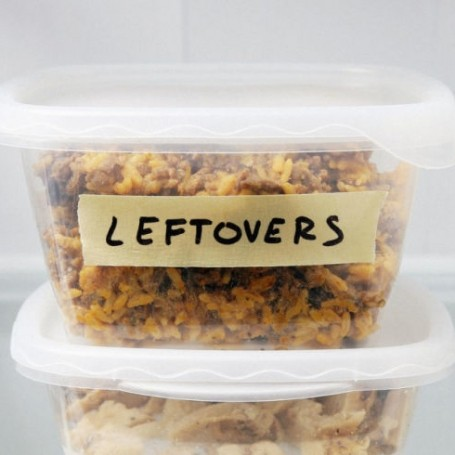 This is how you should actually be storing your leftover food