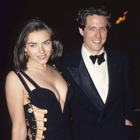 Liz Hurley shares a throwback picture of herself and Hugh Grant