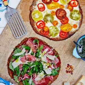 Hemsley + Hemsley flower power pizza