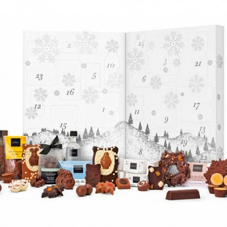 Hotel Chocolat's new advent calendar includes chocolate and booze