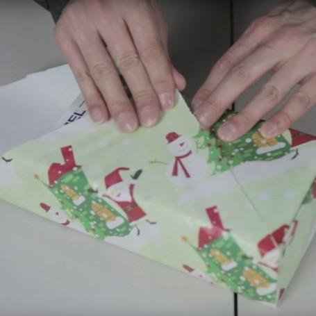 In Japan, they have a faster way to wrap gifts