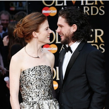Kit Harington left a severed head in Rose Leslie's fridge, and it did not go down well