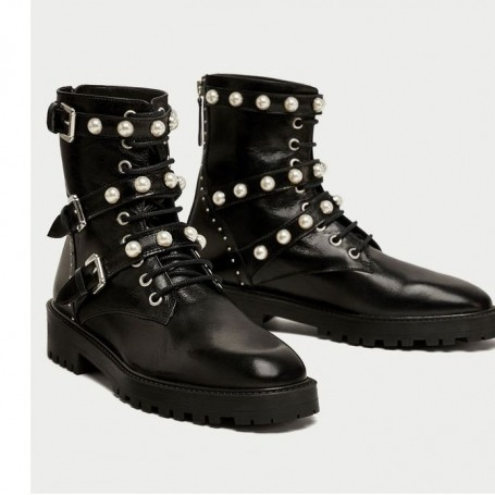 These Zara biker boots are taking over Instagram
