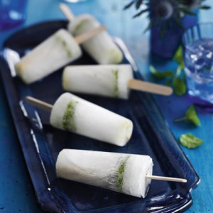 Mojito ice lolly recipe