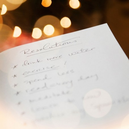 How to set New Year's resolution and stick to them
