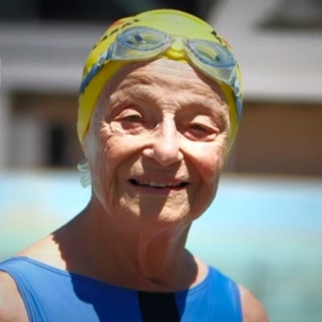 This 93 year old swimming champion is your new hero