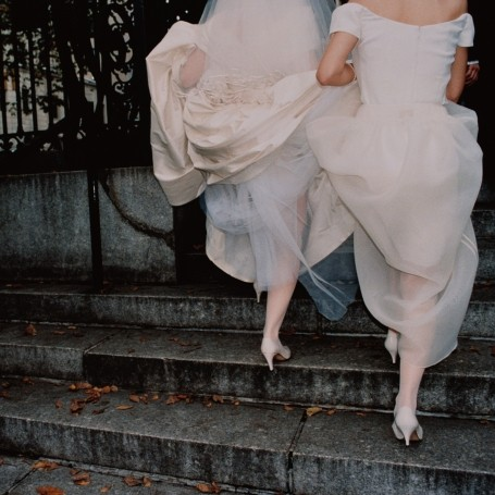 This bridesmaid made a very cheeky request to the wedding photographer