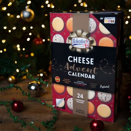 A day in the life of john frieda 39 s creative colour for Where to buy cheese advent calendar