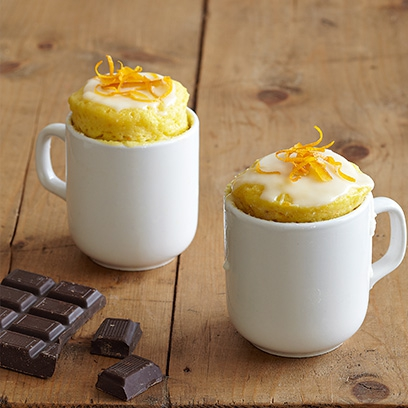 Orange And Chocolate Chip Mug Cake Cake Recipes Mug