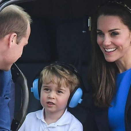 The Duchess of Cambridge reveals that Prince William struggled with becoming a father