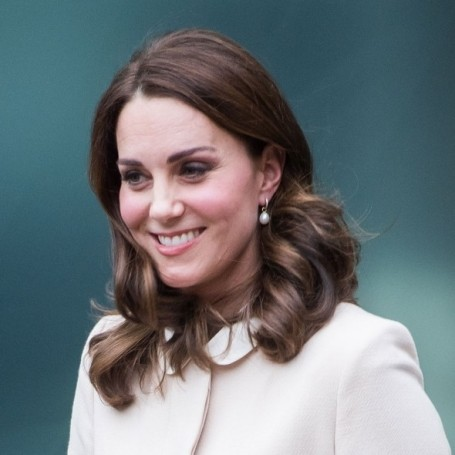 The Duchess of Cambridge steps out in a chic winter coat