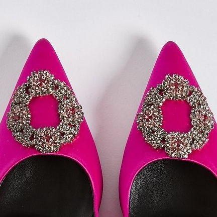 Marks and Spencer is selling Carrie Bradshaw's iconic Manolo Blahnik shoes for £35