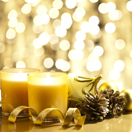 The most gorgeous Christmas candles